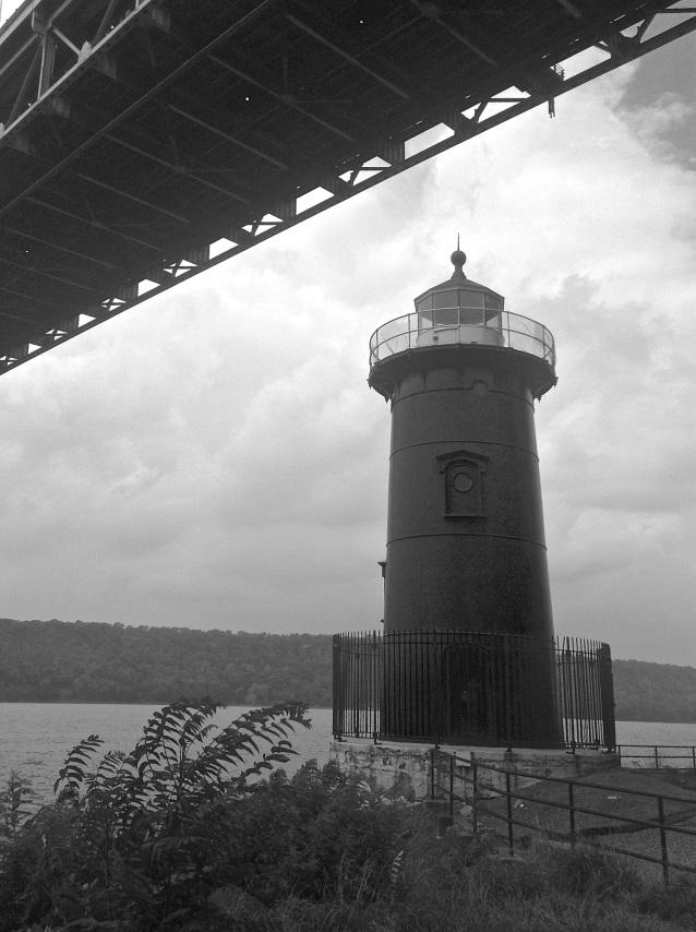 Day 284:2 lighthouse under bridge