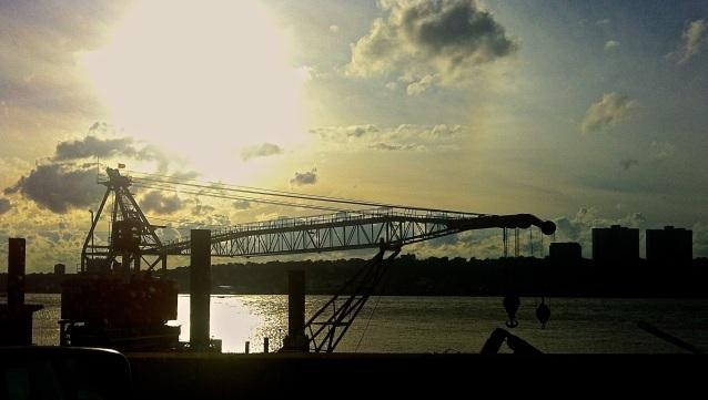 Day 355:2 Crane on the Hudson
