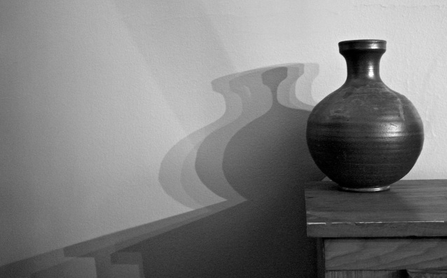 Day 34:3 Vase and shadow