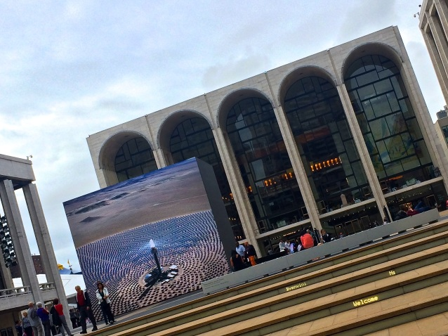 Day 288:3 Lincoln Center Cube
