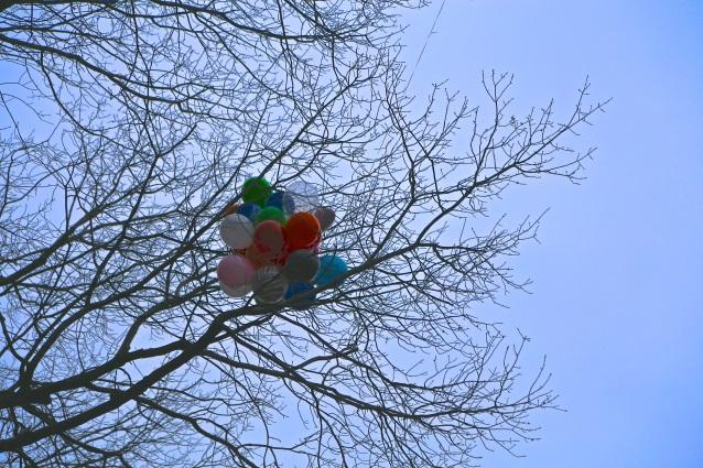 Day 4:4 balloon stuck