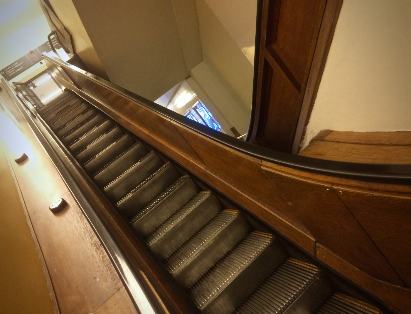 Day 127/4 macy escalator