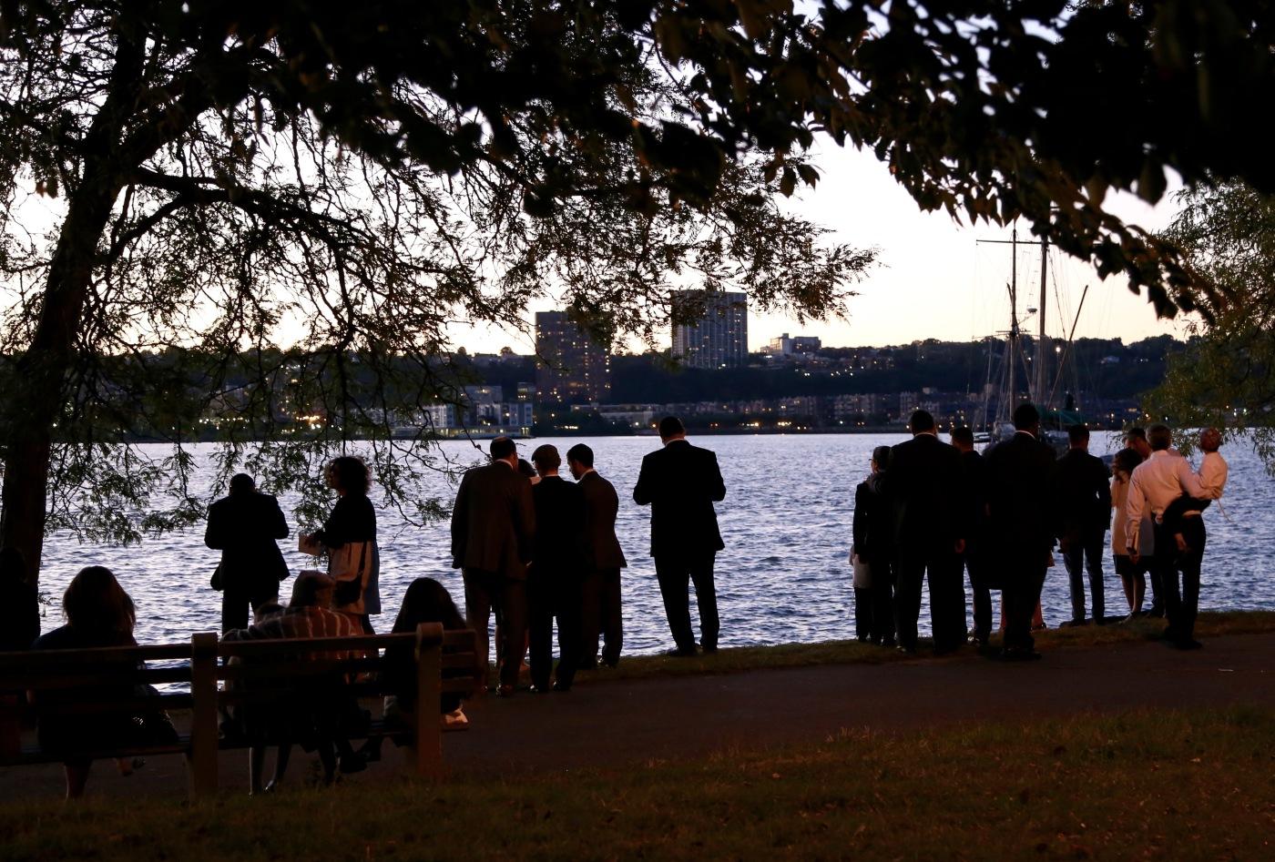Day 257/4 Tashlich in Riverside Park