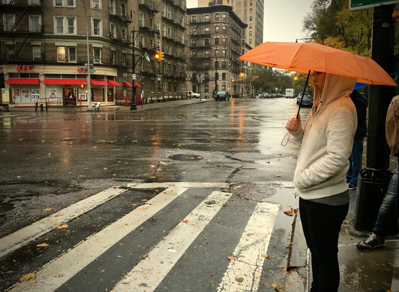 Day 314/4 Orange Umbrella